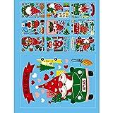 SHUIZHUYU Decoración Navideña Vinilos NavideñOs Ventanas Navidad Pegatinas ExhibicióN Copos Nieve para Ventanas Pared Fiestas NavideñAs Puerta Ventana Oficina Vidrio (Color : B)