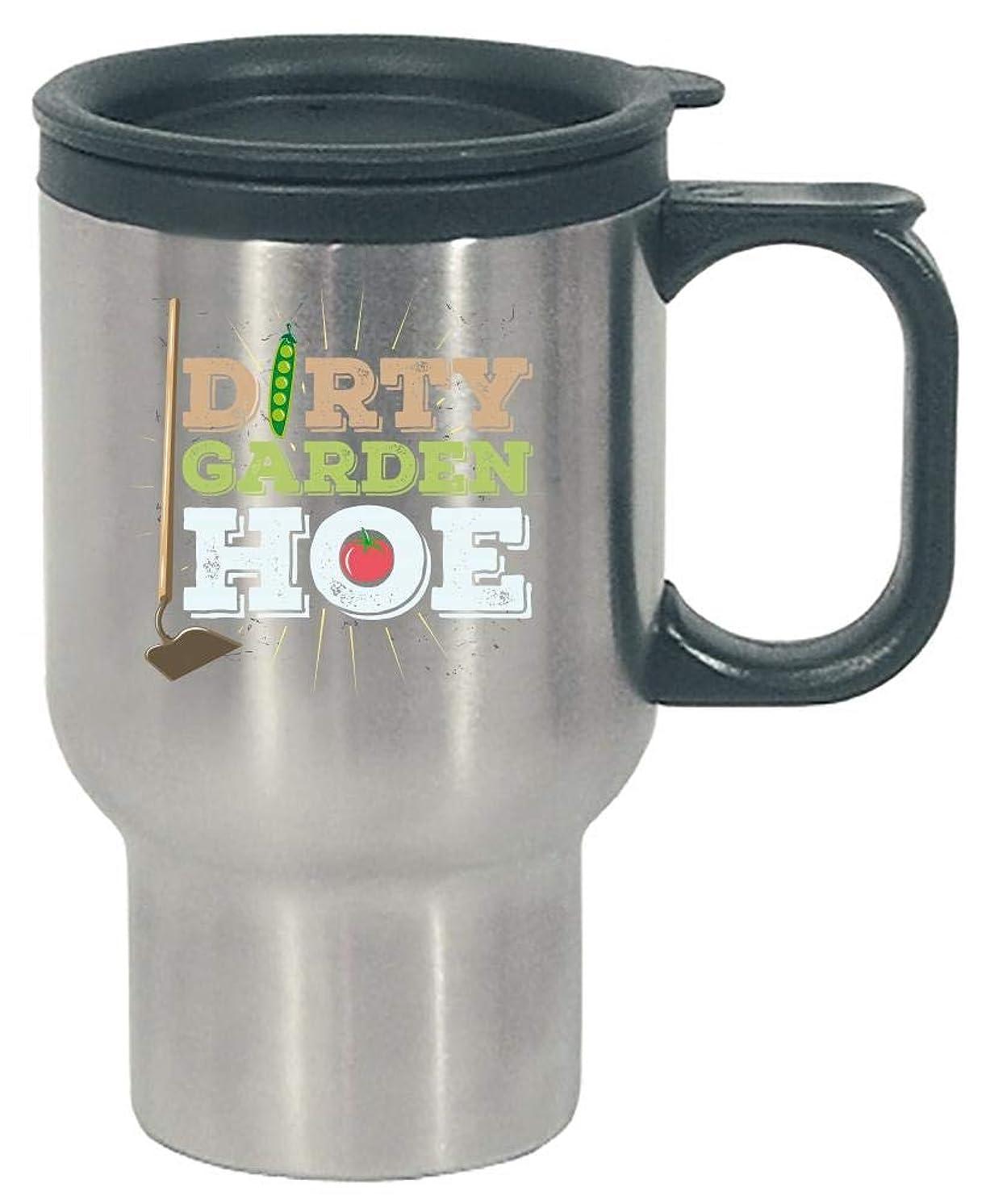 Funny Garden Hoe Gardening Gag - Stainless Steel Travel Mug