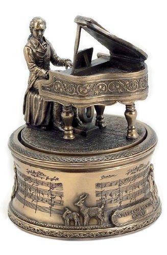 Musicbox World - Caja de música, diseño de Mozart con la melodía de la Flauta Mágica