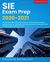 SIE Exam Prep 2020-2021: SIE Study Guide with 375 Questions and Detailed Answer Explanations for the FINRA Securities Industry Essentials Exam (5 Full-Length Practice Tests) Book PDF