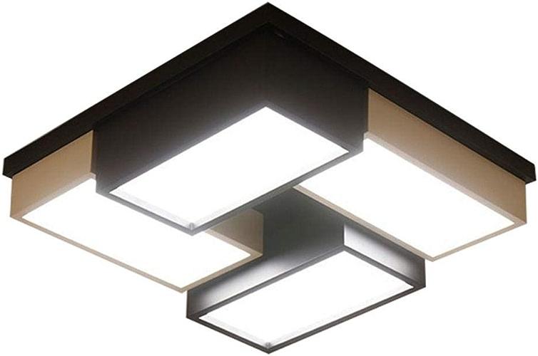 Plafonnier - prougeection des yeux à LED 40   60W dimmable peut être utilisé dans l'étude de chambre à coucher et ainsi de suite.-Blanc 45CM