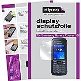 dipos I 6X Schutzfolie klar kompatibel mit Samsung Galaxy Xcover 550 Folie Bildschirmschutzfolie