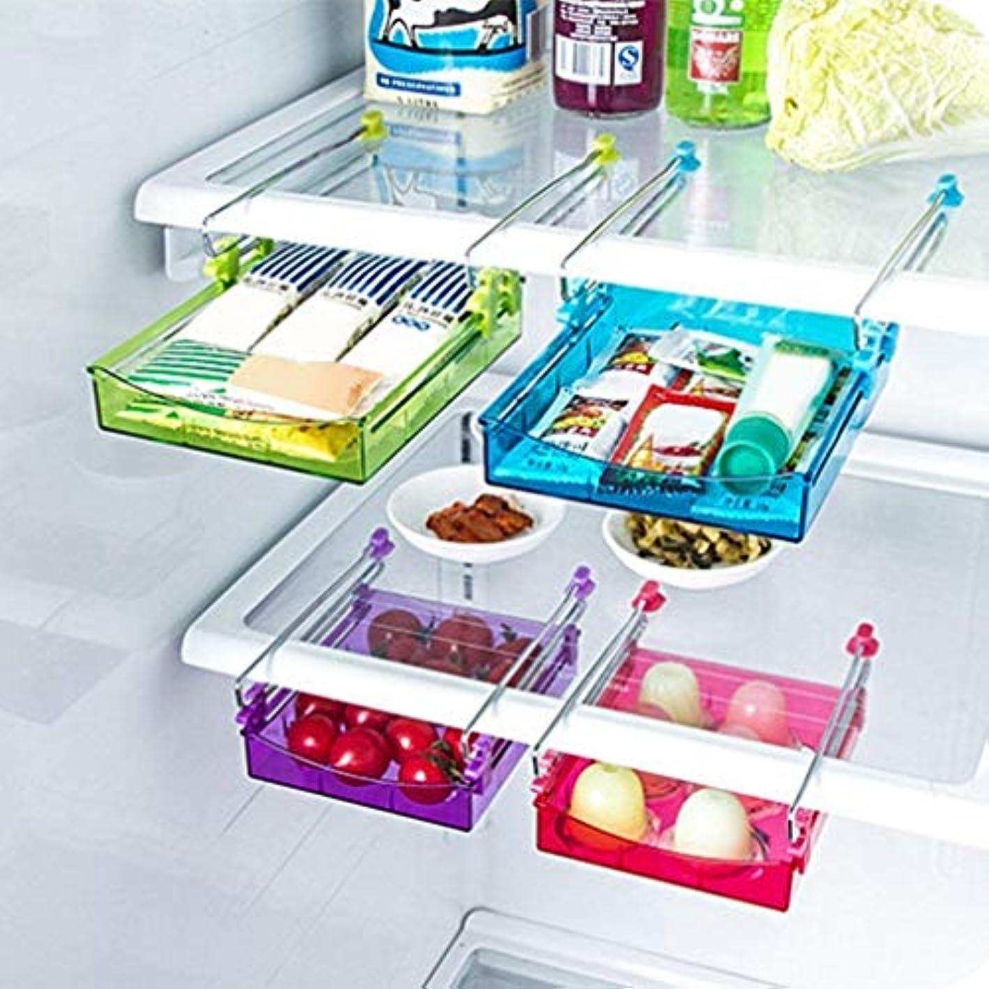 Kikole Home Kitchen Refrigerator Keep Fresh Sliding Drawer Storage Box Food Storage & Organization Sets