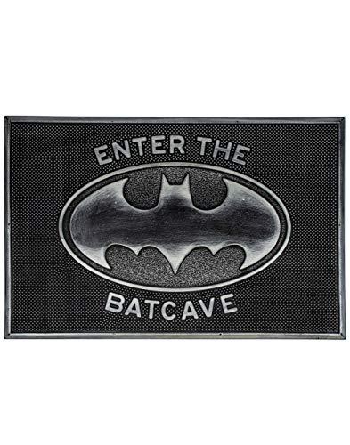 Felpudo de Batman de DC Comics Enter The Batcave Tapete de bienvenida a casa