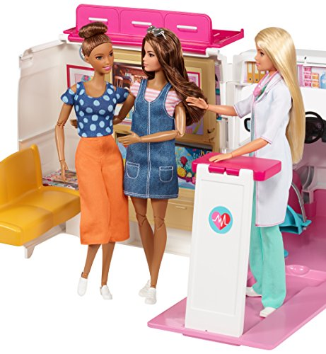 Ambulance de Secours Clinique Soins Médical Barbie - 10