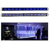 KZKR LED Aquarium Hood Lighting 72 - 78 inch...