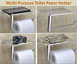 Spartan Stainless Steel Multipurpose Toilet Paper Holder||Tissue Paper||Mobile Holder||Tissue Paper Roll Holder