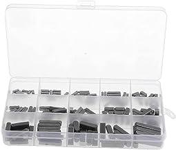 Ronde Ended Veer Sleutel Shat Sleutel Motor As Veer Sleutel Set Parallelle Aandrijfas 3-6mm 140PCS Zwart Office Hardware