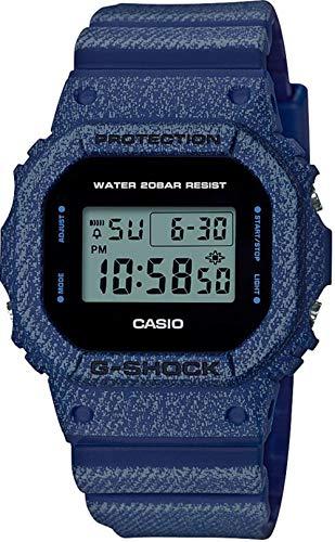 Casio G-Shock Reloj casual de resina negra para hombre - DW-5600DE-2DR