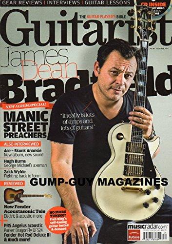 Guitarist THE GUITAR PLAYER'S BIBLE October 2010 UK Magazine CD ENCLOSED Guitar Lessons MANIC STREET PREACHERS