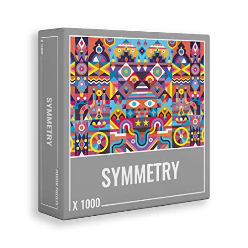 Symmetry – Anspruchsvolles, symmetrisches 1000-teiliges Puzzle für Erwachsene in leuchtenden, kräftigen Farben!