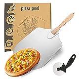 DBMGB Pizzaschaufel Pizzaschieber, Pizzaschieber für Pizzastein, Pizzaschaufel...