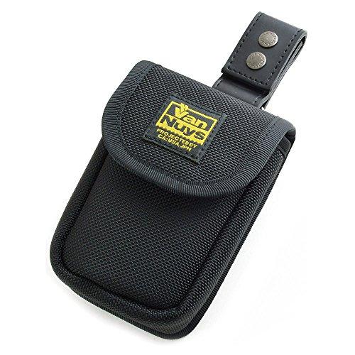 バンナイズ/SONY Cyber-shot RX100M7/RX100M6/RX100M5/RX100M4/RX100M3/RX100M2/RX100用縦型キャリングケース<ぬめ革ベルト用いい感じの吊り下げアタッチメント(ブラック)>セットモデル