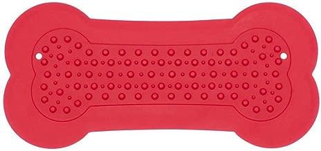 Red BLEVET Cat Lick Pad Coj/ín para Perro Almohadilla para lamer MZ059