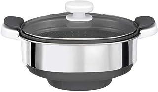 Moulinex Cuiseur Vapeur XF384B10 Accessoire Companion Officiel Bol Collecteur Jus Compatible avec Tous les Robots Cuisine ...
