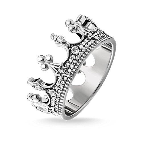 Thomas Sabo -Ringe 925_Sterling_Silber zirkonia Ringgröße 52 TR2224-643-14-52