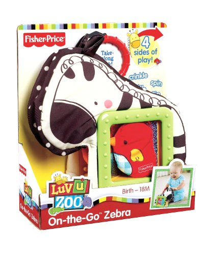 Mattel T7163 - Fisher-Price On-The-Go Zebra