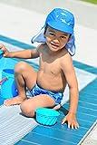 Playshoes Baby – Jungen Schwimmbekleidung 460120 Badewindel, Badehose, Schwimmwindel Hai von Playshoes mit höchstem UV-Schutz nach Standard 801 und Oeko-Tex Standard 100, Gr. 62/68, Blau (original) - 4
