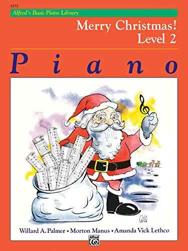 Alfred's Basic Piano Course: Merry Christmas! Level 2