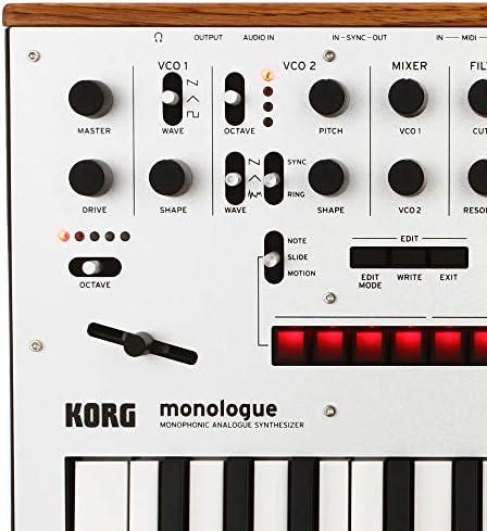Korg Sintetizador, 25 Clave (MONOLOGUEBK): Amazon.es ...