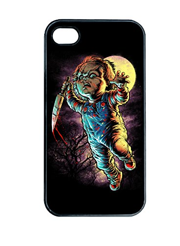 Chucky Clip Op Iphone Hard Case Kinderen Spelen Horror Film IPhone 4 5c 5s 6 6plus cover Achterzijde iphone 6plus