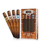 Cuba Collection 4 Stk. Geschenk-Set (contains Eau De Toilette Spray 1.17 Oz / 35 Ml Cuba Gold & Red & Blue & Orange) von Champs für Männer