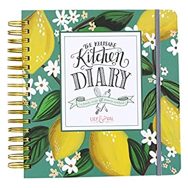 The Keepsake Kitchen Diary - Kitchen Lemons Cover