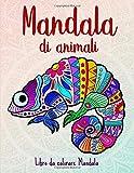 Mandala di animali: 50 Mandala di animali per bambini a partire dai 10 anni. Stimola la cr...