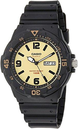 Casio Men's 'Classic' Quartz Resin Casual Watch, Color:Black (Model: MRW-200H-5BVCF)