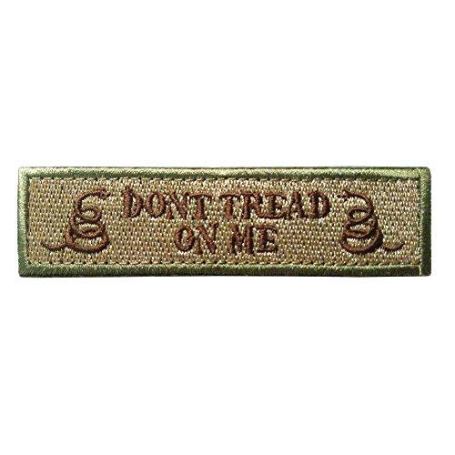 Inconnu GGG Nouveau double Serpent Don't Tread on me tactique militaire Patch Bande armée Moral badge Couleur de boue