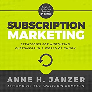Subscription Marketing audiobook cover art