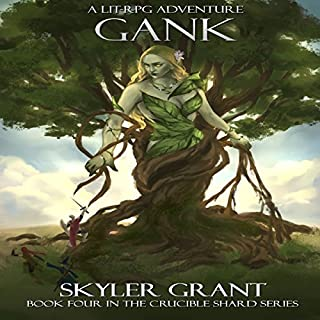 Gank audiobook cover art