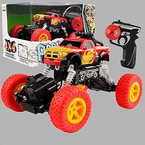 Weaston Escala 1:22 vehículo Todoterreno de Escalada, 4WD eléctrico Rock Crawler Toy Car, 2.4GHz All Terrains Electric Toy RC Monster Crawler Trucks, Strong Power Climbing Cars