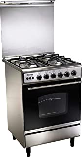 Uniontech C5555SS-170, 4 Gas Burner Stainless Steel