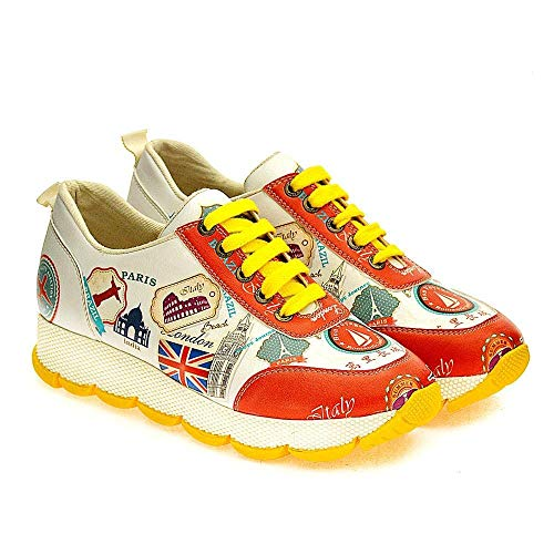 Goby UK Femme Sneakers Schuhe (SPS100-101-102-200-201-202)