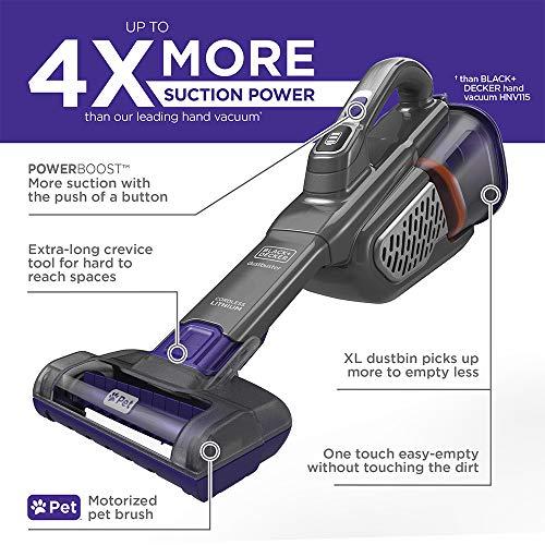 BLACK+DECKER Dustbuster Handheld Vacuum For Pets