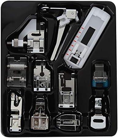 Naaipers Voet11 STKS Huishoudelijke Multifunctionele Naaimachine Onderdelen Druk Voet Naaien Machine Accessoires Kit Set voor Al Uw Naaibehoeften