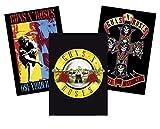 Guns N' Roses Poster 3er Set - Logo - Appetite for