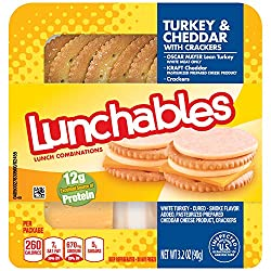 Lunchables Turkey Cheddar & Crackers (3.2 oz Tray)