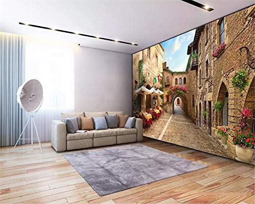 Wallpaper For Walls 3D aangepaste fotobehang Mural Alley Street View achtergrond Wall 3D Wallpaper Wgop 200cmx140cm