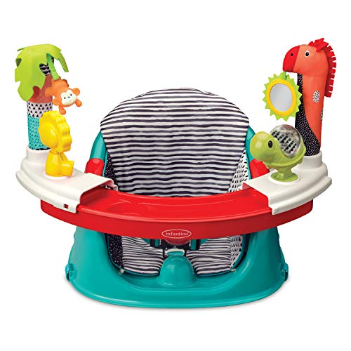 Infantino 3-in-1 Booster Seat | Baby Activity Seat | Booster Seat for Dining Table | Removable Tray