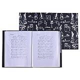 ammoon Music Sheet Score Datei Papier Dokumente Lagerfolder Halter Kunststoff A4 Größe 40...