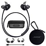 Bose SoundSport Wireless Headphones Black - Bundle Charging Case for SoundSport Wireless Headphones