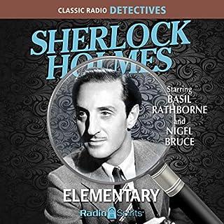 Sherlock Holmes: Elementary audiobook cover art