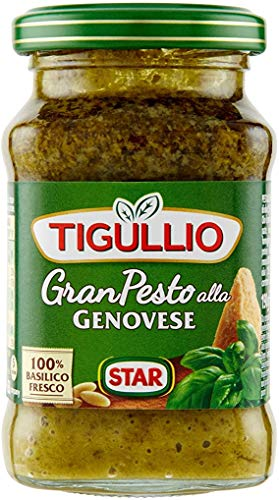 12x Star Tigullio GranPesto Pesto alla Genovese mit Basilikum 190g Sauce Soße