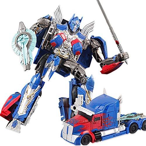 NOLO Transformación Robot Classic Action Figuras Deformation Robot Deluxe Juguetes para niños Educación Juguetes Regalo