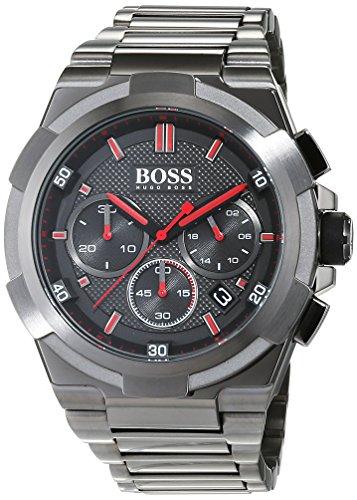 Hugo BOSS Chronograaf Quartz Horloge voor heren met RVS Armband – 1513361