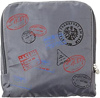 Miamica Red Stamp Print Resealable Bags-6 Large/6 Small, One Size