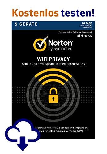 Norton Wi-Fi Privacy   5 Geräte   PC/Mac/Android   Kostenlos testen