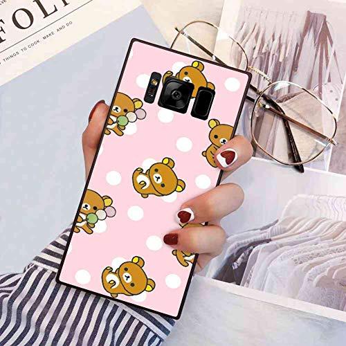 Animals Bear Rilakkuma Phone Case Fits for Galaxy S8 (5.8 Version)